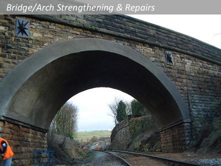 shotcrete bridge arch stengthening repairs lining. Black Bedroom Furniture Sets. Home Design Ideas